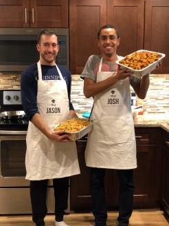 Chef Jason (left) and Chef Josh (right)